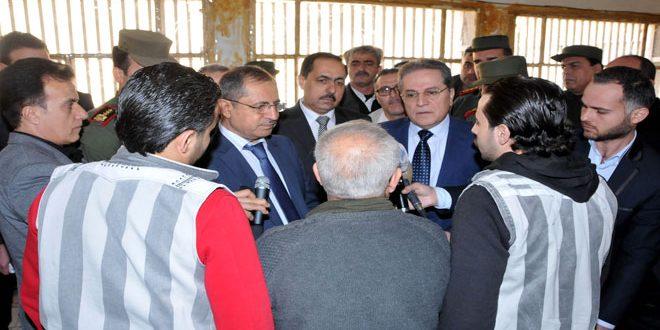 Photo of لجنة لمعالجة أوضاع سجناء عدرا.. والعلبي: اجتماعنا الأول السبت