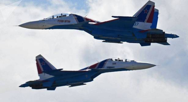 """Photo of الدفاع الروسية توضح حقيقة اعتراض مقاتلات """"سو-30"""" فوق بحر البلطيق"""