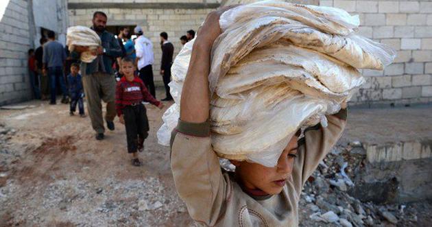 "Photo of ""المركزي للإحصاء"": 23 بالمئة فقط من السوريين آمنون غذائياً"