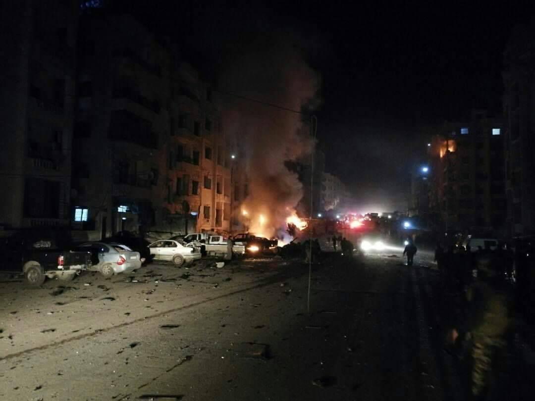"""Photo of عشرات القتلى والجرحى بانفجار يستهدف """"أجناد القوقاز"""" في إدلب"""