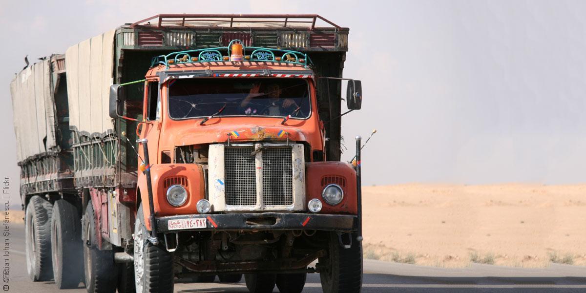 صورة صبيح: أمانة البوكمال جاهزة ونتوقع حركة تبادل تجاري كبيرة مع العراق