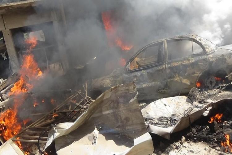 Photo of استشهاد 5 مواطنين بانفجار عبوة ناسفة في الحي الغربي بمدينة القامشلي