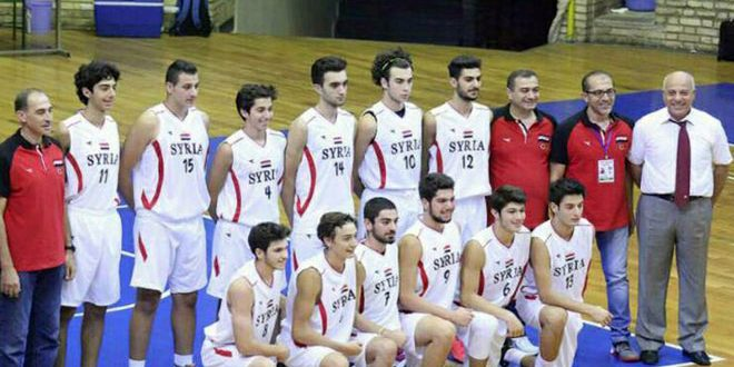 "Photo of منتخب سورية ""تحت 18 عاما"" لكرة السلة يخسر من لبنان بنتيجة قاسية"