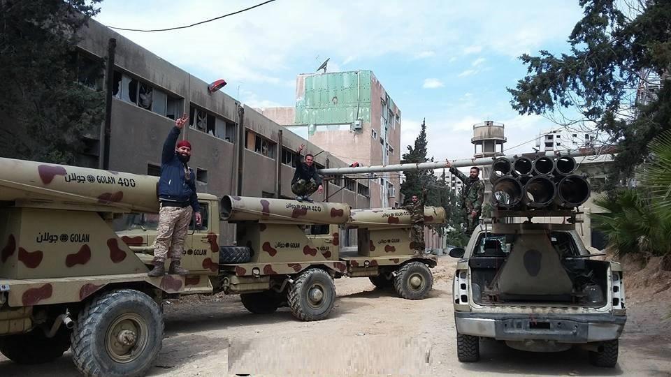 Photo of الجيش يواصل استعداداته لمعركة الغوطة.. واستعادة النشابية باتت قريبة