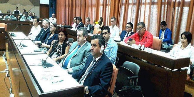"""Photo of نداف من هافانا لـ """"الوطن أون لاين"""": اتفاق تعاون سوري كوبي في التعليم العالي"""