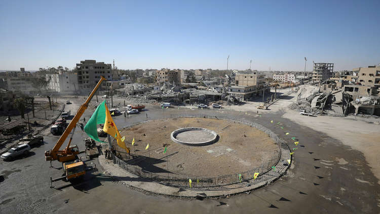 Photo of الأمم المتحدة تحذر السكان من العودة لمدينة الرقة