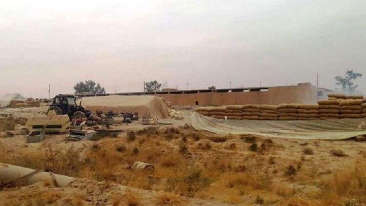 """صورة 31 ألف طن من القمح وصلت إلى دمشق وحمص قادمة من مخابئ """"داعش"""" في دير الزور"""