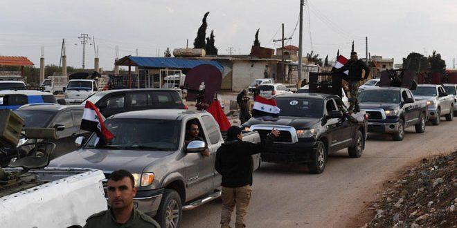 """Photo of """"القوات الشعبية"""" إلى ساحات المعارك ضد تركيا في عفرين"""