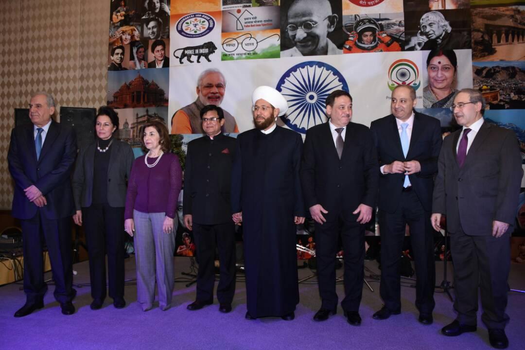 Photo of المفتي: سنبقى نضيء للعالم كله.. سفير الهند: مكافحة الإرهاب تجعلنا أقرب إلى سورية