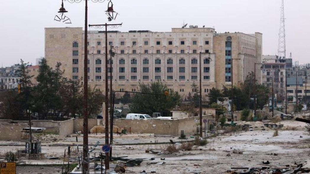 "Photo of الانتهاء من ترميم ""شيراتون"" حلب مطلع الشهر القادم"
