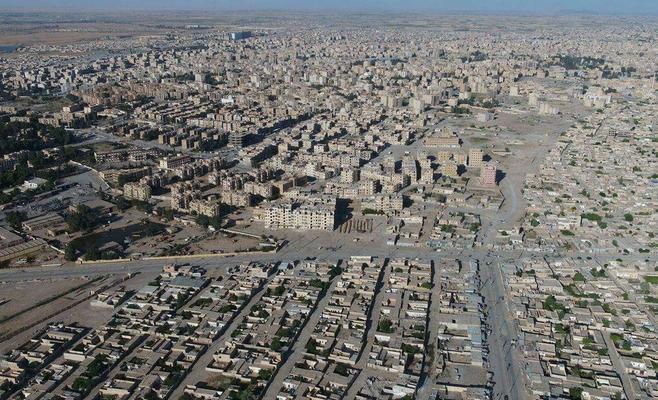 Photo of صور جوية تظهر الدمار الهائل في الرقة