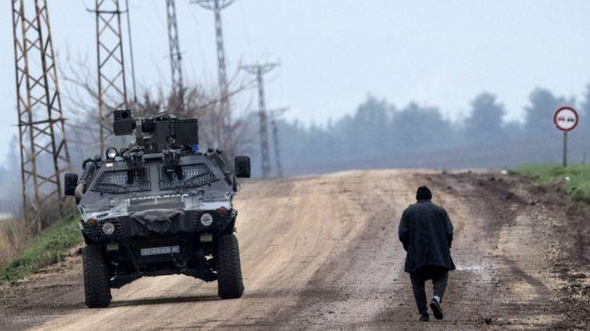 Photo of 10 كيلو مترات تفصل الاحتلال التركي عن عفرين
