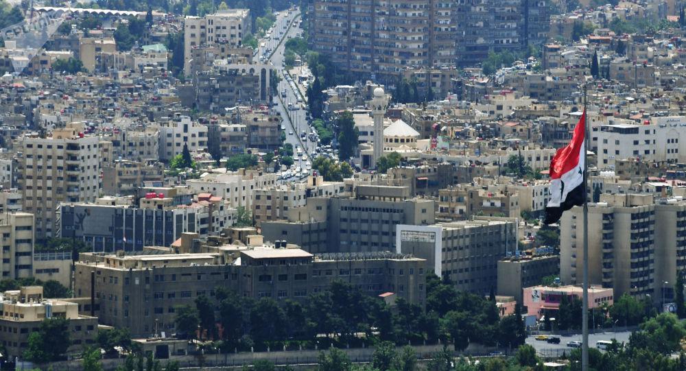 صورة دمشق ترد على الاحتلال التركي لمدينة عفرين