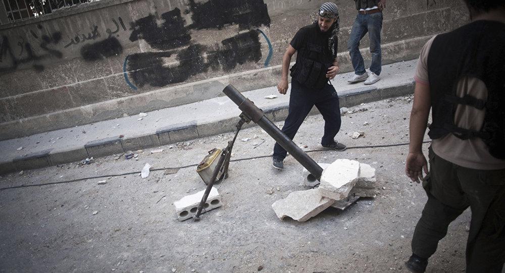 صورة مرضى «ابن سينا» يتعرضون لقذائف الإرهاب