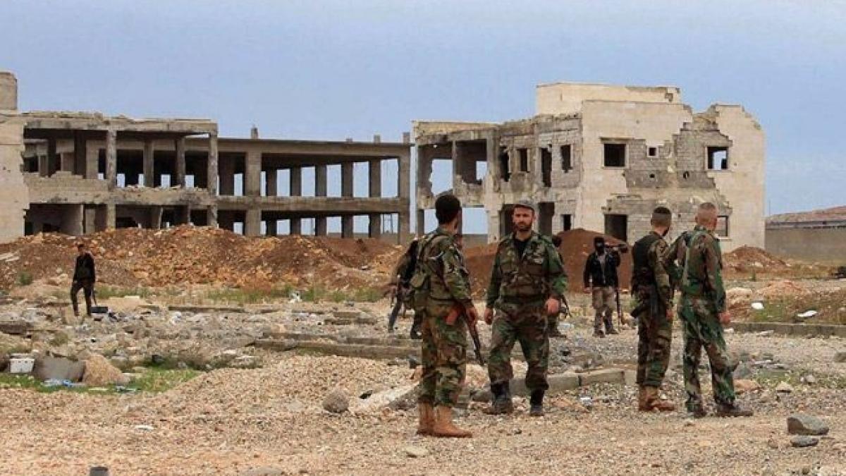 صورة اللجان الشعبية تتصدى للعدوان التركي وأنباء عن إرسال الجيش السوري تعزيزات إلى محيط بلدتي نبل والزهراء