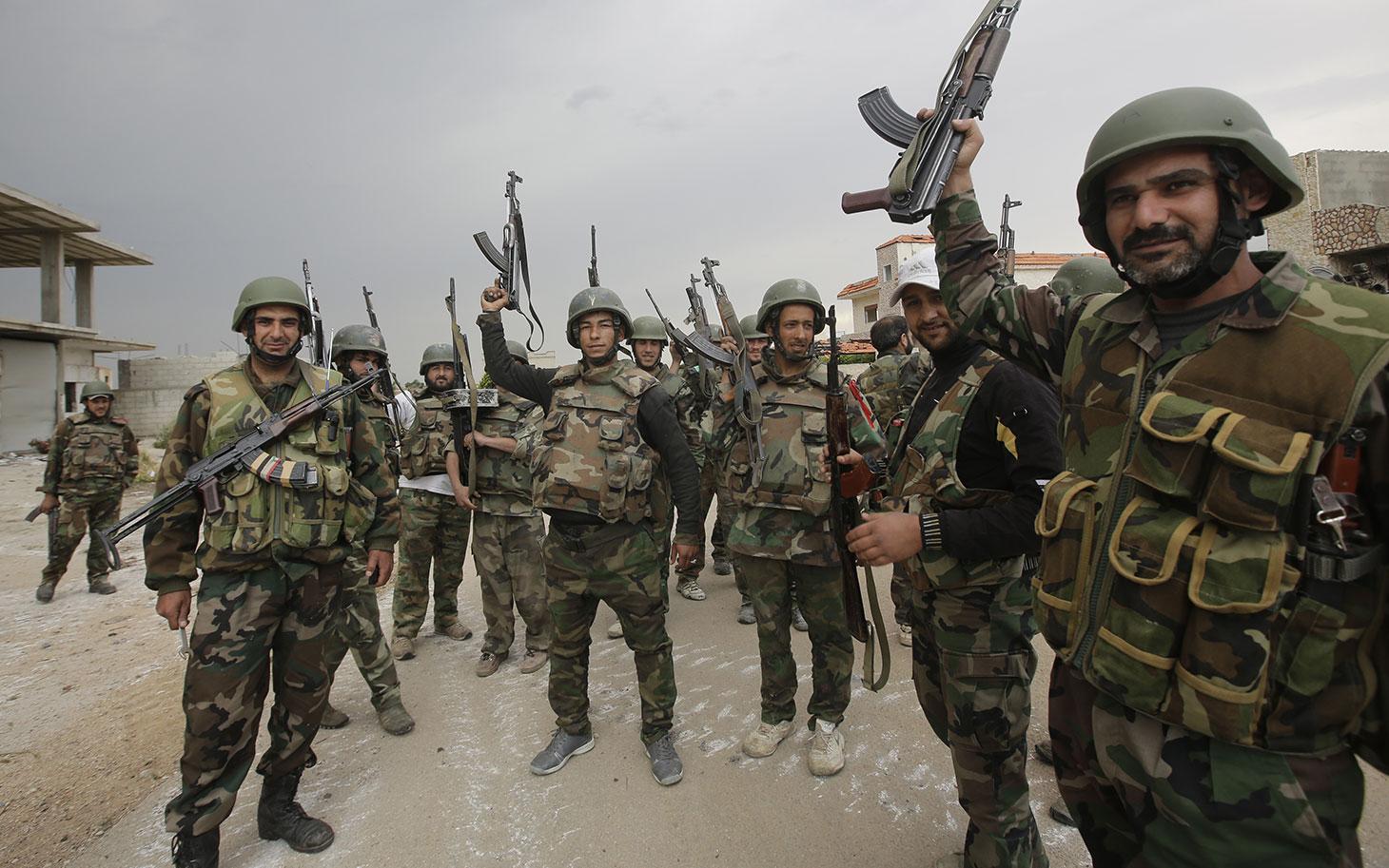 Photo of مساحة الغوطة تتقلص.. الجيش يقضم البلدات الشرقية ويطرد الإرهابيين إلى العمق