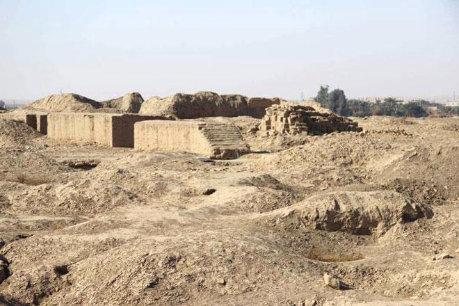 Photo of أضرار كبيرة في موقع ماري الأثري نتيجة الاعتداءات الإرهابية
