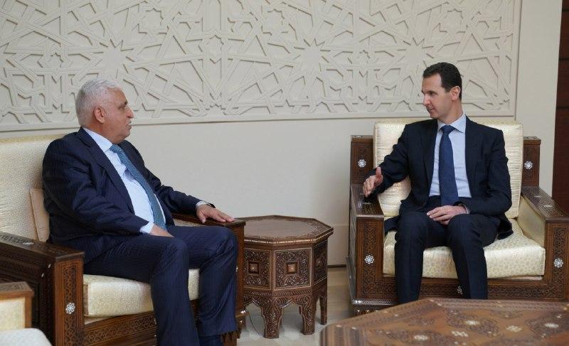 Photo of الرئيس الأسد لمبعوث رئيس الوزراء العراقي: أمريكا وحلفاءها لم تتخل عن مخططاتها في تقسيم دول المنطقة