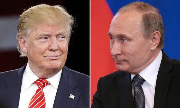 Photo of ترامب يهنئ بوتين بفوزه في الانتخابات الرئاسية