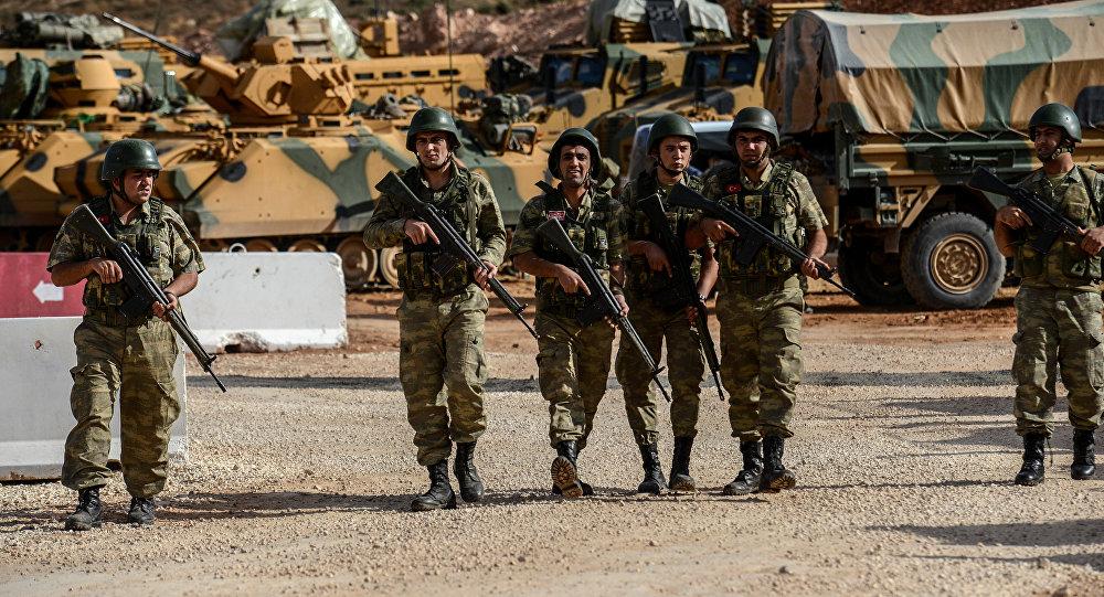 صورة «حماية الشعب» تنسحب وقوات النظام التركي تحتل عفرين