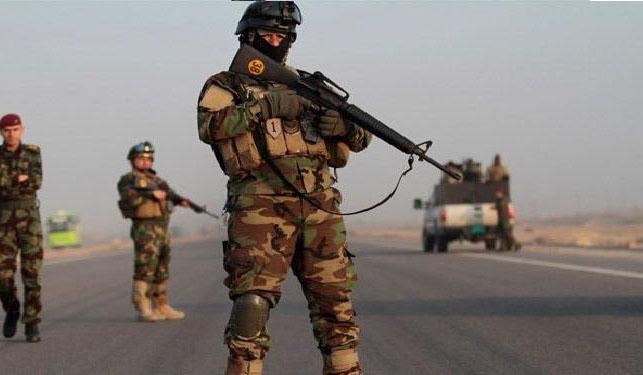 صورة بالصور.. الاستخبارات العسكرية العراقية تضبط أسلحة من العيار الثقيل كانت بحوزة داعش