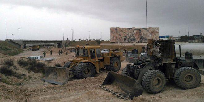 Photo of الجيش يجهز ممراً جديداً لخروج مسلحي جوبر وزملكا وعربين وعين ترما