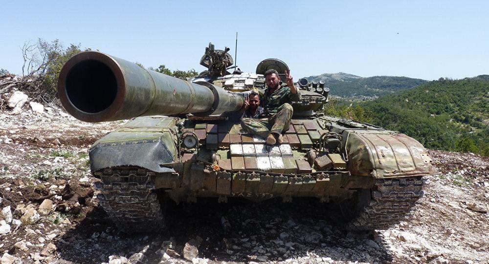 Photo of الجيش يتقدم ويسيطر على قرى ونقاط في ريف سلمية الغربي