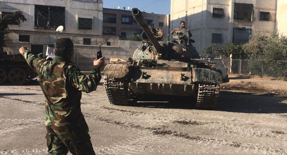 """Photo of الجيش السوري يبدأ عملية عسكرية للقضاء على تنظيم """"جيش الإسلام"""" في دوما"""