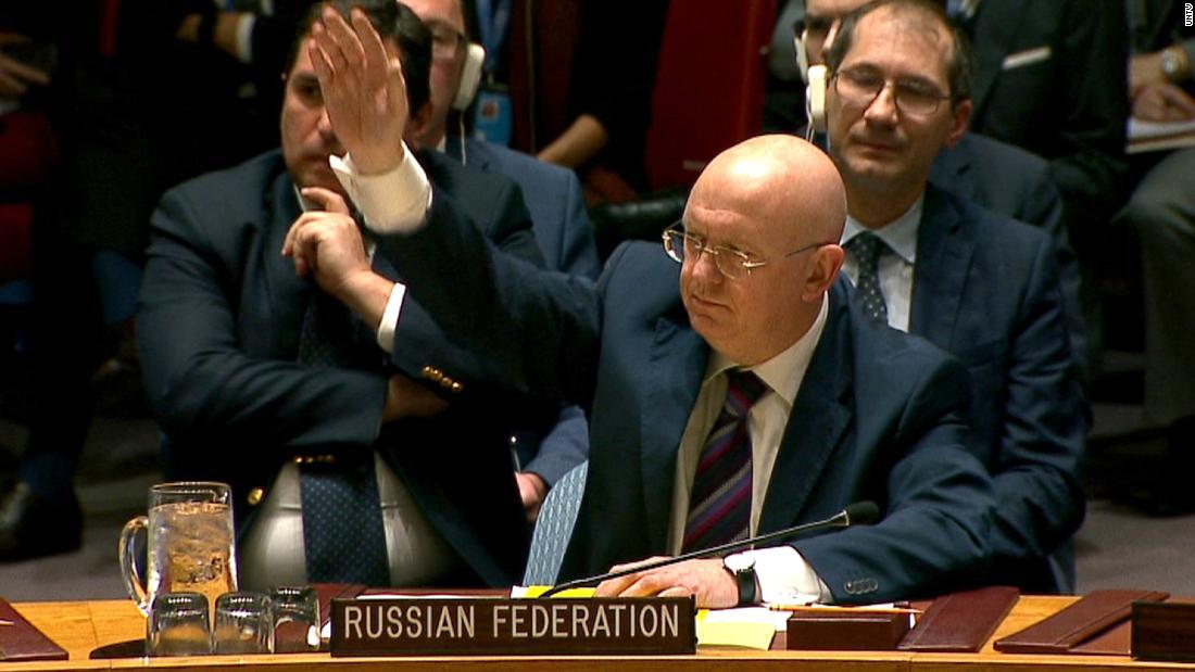 Photo of روسيا تسقط مشروع القرار الأمريكي ضد سورية في مجلس الأمن