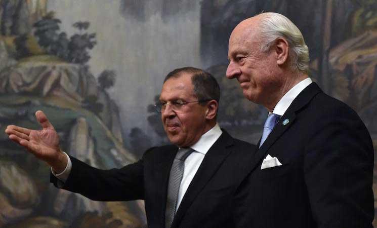 "Photo of ديمستورا يدعو لطي صفحة ""الكيميائي"" المزعوم والانطلاق نحو جنيف"