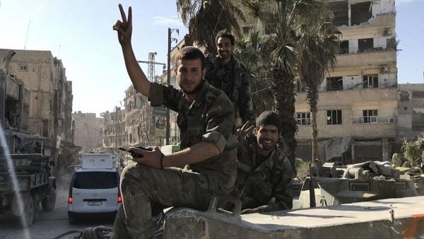 صورة الجيش السوري يعلن تحرير دوما من الإرهاب