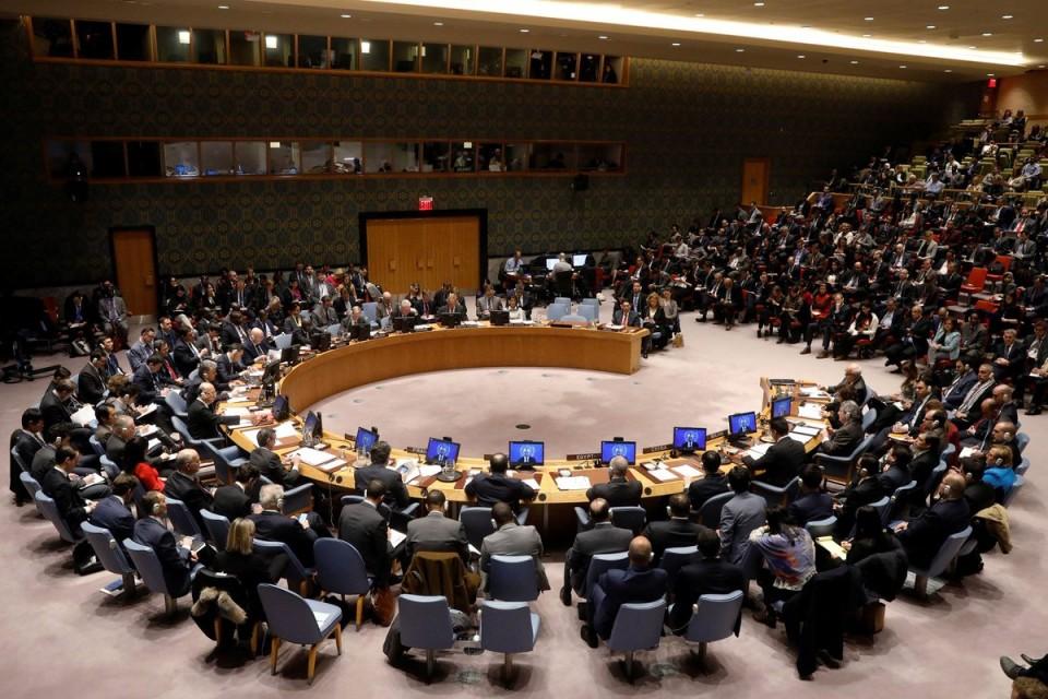صورة مجلس الأمن يفشل بإدانة العدوان.. والجعفري: من صوت ضد القرار لا مكان له في الحل السياسي