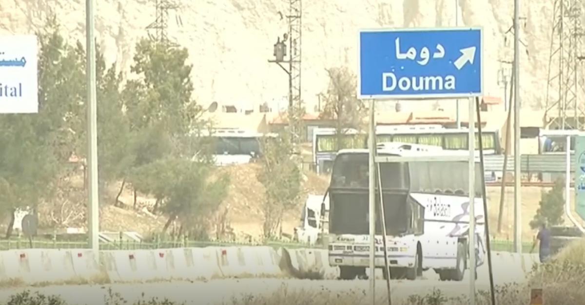 "Photo of إرهابيو ""جيش الاسلام"" يطلبون التفاوض مع الدولة السورية"