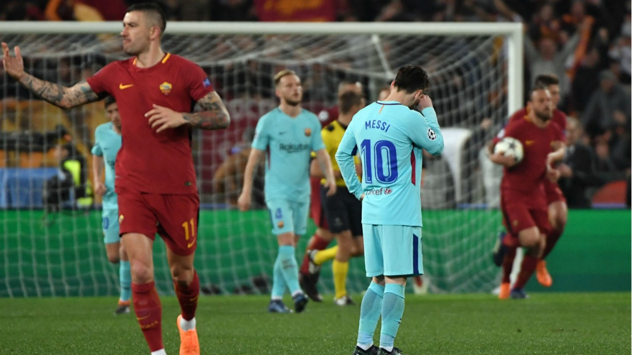 صورة برشلونة ومان سيتي يخرجان من الباب الصغير لأبطال أوروبا بخسارتين مذلتين