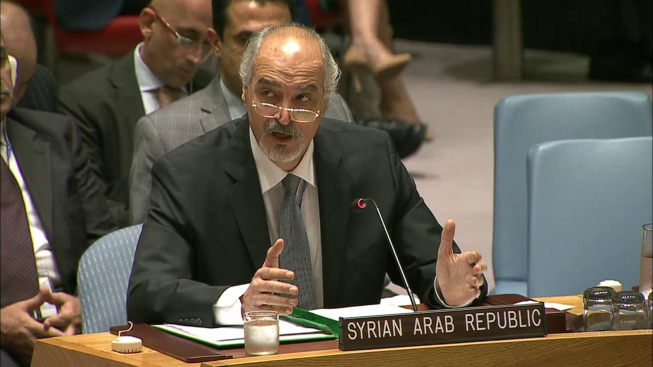 صورة الجعفري: لن نسمح لتدخل خارجي برسم مستقبل سورية