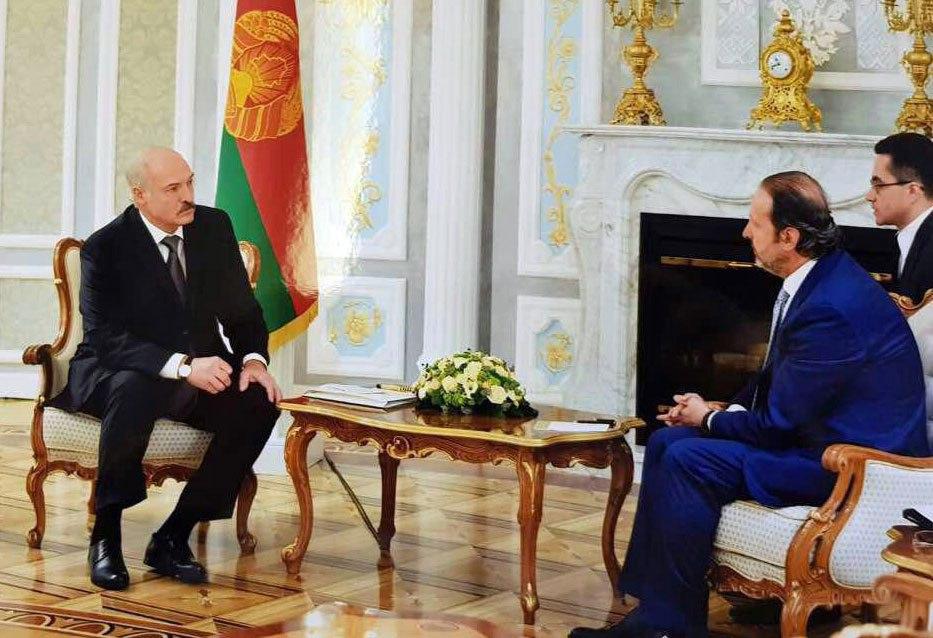 صورة رسالة من الرئيس الأسد إلى الرئيس البيلاروسي.. لوكاشينكو: مستعدون للمساعدة بإعادة الإعمار