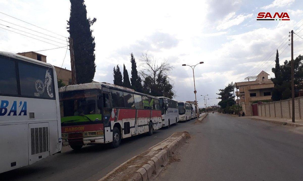 """Photo of إرهابيو القلمون الشرقي إلى جرابلس وتسليم الأسلحة مستمر """"صور"""""""