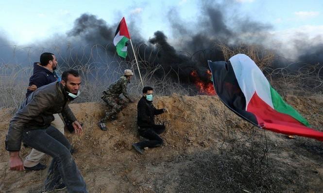 "Photo of 52 شهيدا ومئات الجرحى الفلسطينيين في يوم ""ذكرى النكبة"" وافتتاح السفارة"