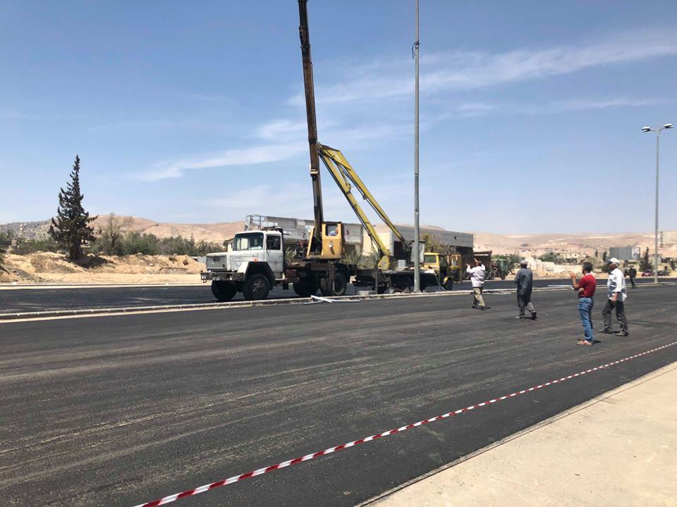 Photo of طريق حرستا الدولي في الخدمة قبل 15 الشهر