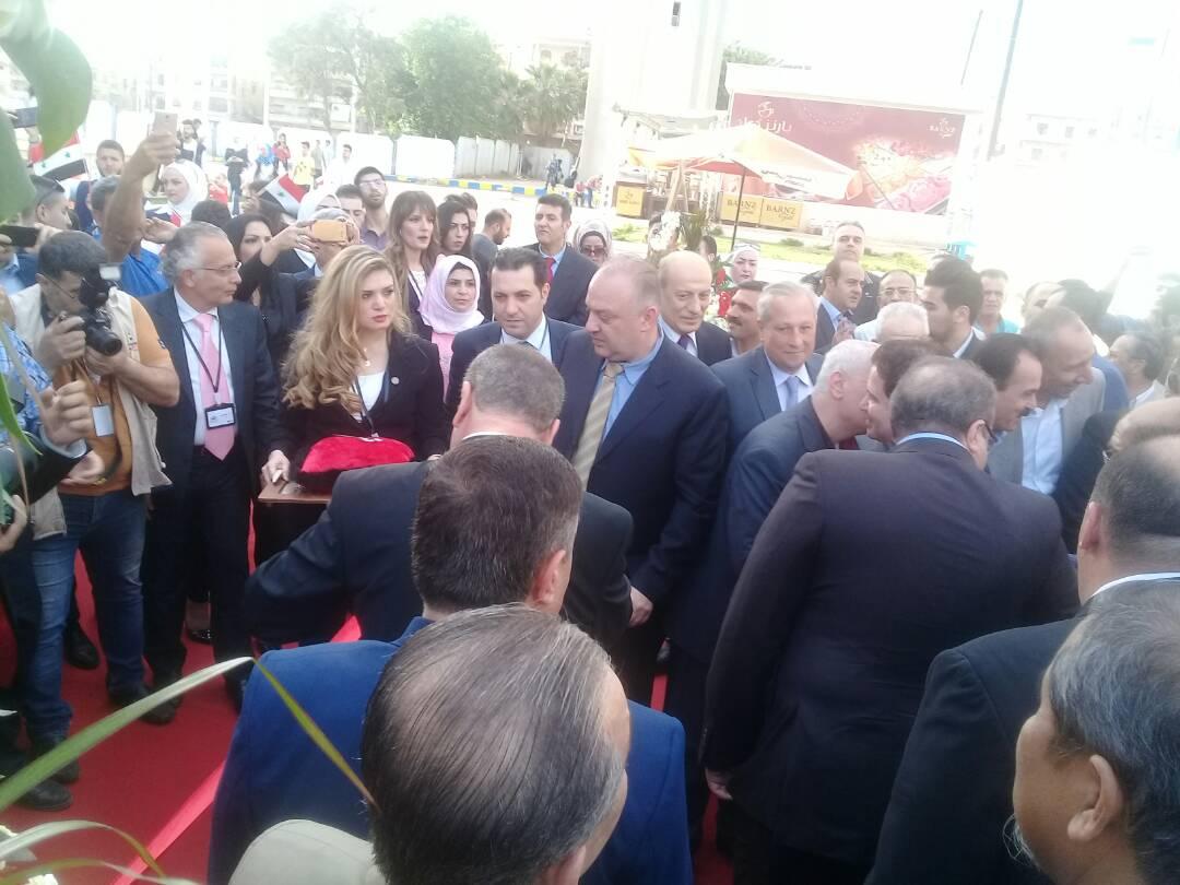 "Photo of ""ثغرات"" شوهت صورة ""معرض حلب الدولي"""