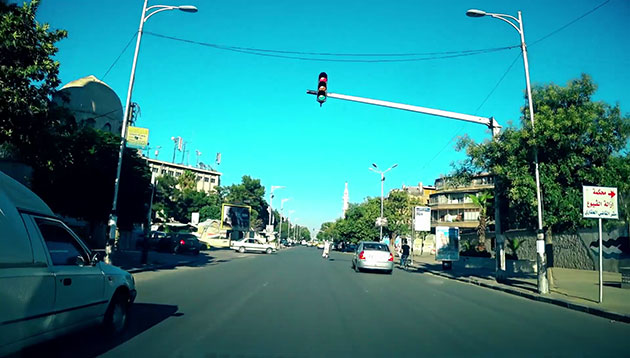 Photo of جولة في بعض شوارع دمشق بعد إزالة عدد من الحواجز داخل المدينة