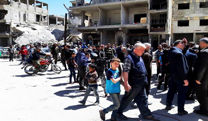 Photo of إبراهيم: التوسع العمراني في الغوطة شاقولي فقط.. وخطة إسعافية لمساعدة الأهالي في ترميم منازلهم