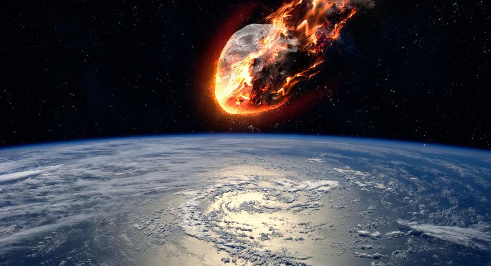Photo of بالفيديو.. انفجار كويكب فوق إفريقيا