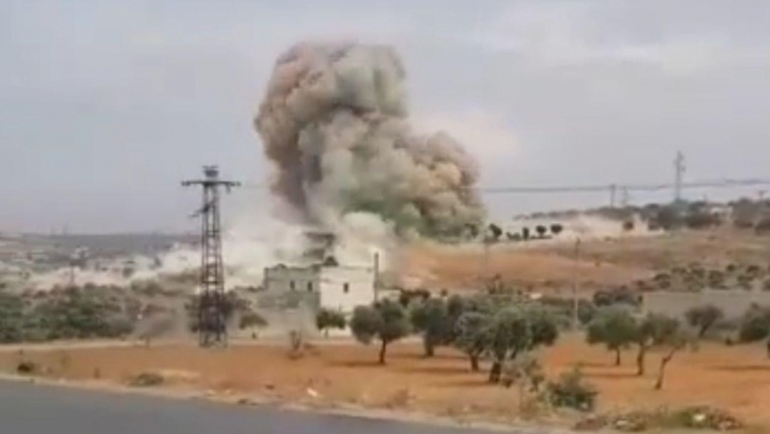 "Photo of ""داعش"" يستهدف مقرا لـ ""النصرة"" بسيارة مفخخة غرب إدلب"