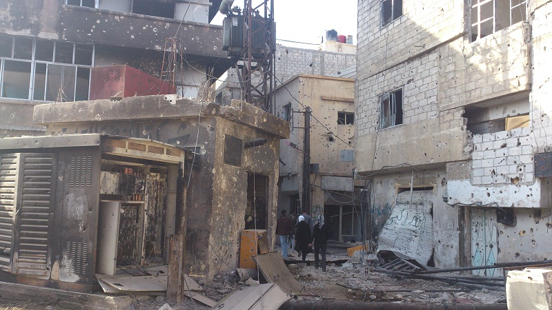 Photo of البدء بإزالة الأنقاض من تجمع حجيرة لعودة 125 ألف مواطن