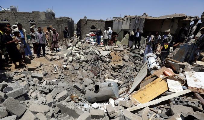 Photo of العدوان السعودي يرتكب مجزرة جديدة في اليمن