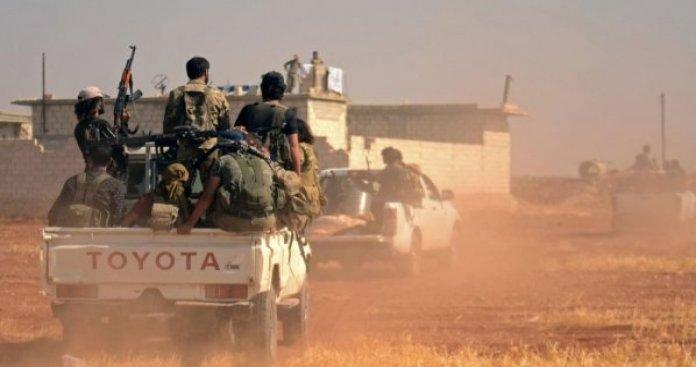 """صورة """"جيش حلب"""" يتحدى نقطة المراقبة التركية بقصف المدنيين"""
