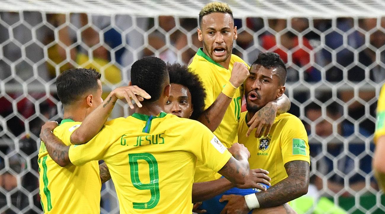 صورة البرازيل تسعد جمهورها بأداء مقنع وتتأهل برفقة سويسرا إلى دور الـ 16