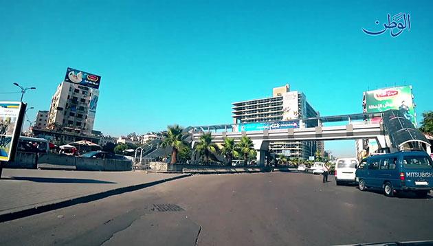 Photo of صباح يوم 26-6-2018 من دمشق
