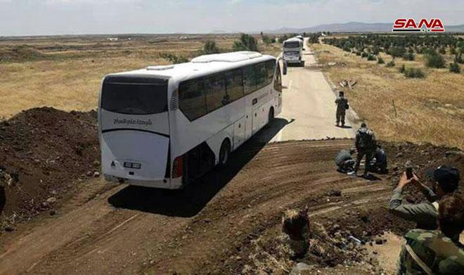Photo of بدء عملية إخلاء القنيطرة من التنظيمات الإرهابية